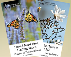 Lord, I Need Your Healing Touch and Lord, Make Haste to Heal Me Booklets